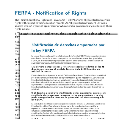 education_sample-ferpa spanish translation services